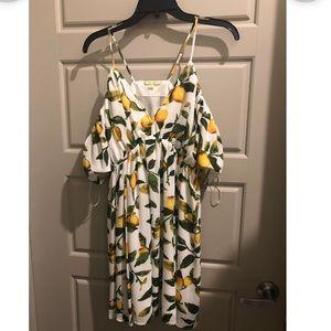 Lemon dress- perfect for summer!